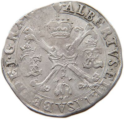 SPANISH NETHERLANDS 1/4 Patagon - Albert & Isabella #t118 059