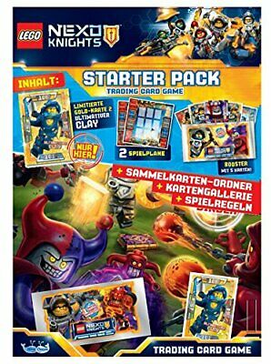 Nexo Collector Cards Lego Knights Trading Cards Starter Pack - GERMAN VERSION