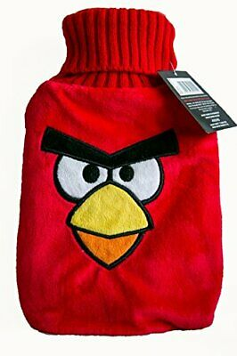 Angry Bird Red Hot Water Bottle and Cover red