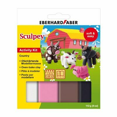 Eberhard Faber Sculpey III Activity Kit Country