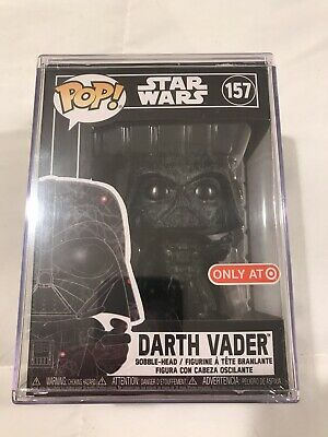 Star Wars Darth Vader Futura Target Exclusive Funko Pop W Hard Stack Protector
