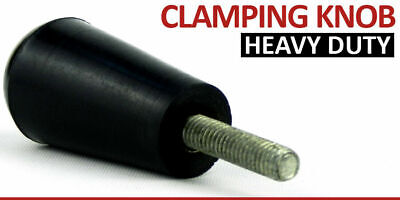 M6 M8 Male Thread Plastic Oval Clamping Tapered Knob Screw On Machinery Handle