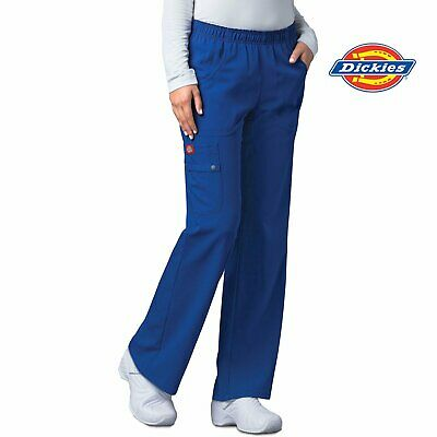 82012 Dickies Womens Stretch Scrub Pant Nurse Medical Nursing Hospital Uniform