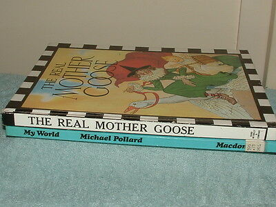 BOOKS Bulk lot.( lot 23) THE REAL MOTHER GOOSE, And more..