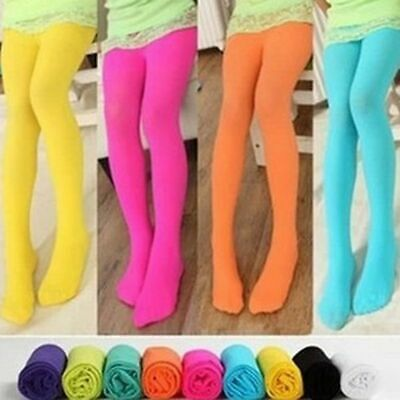 Gift Girls Kids Children Tights Candy Color Pantyhose Stockings Ballet Socks