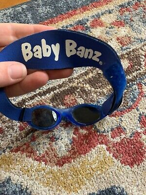 Baby BANZ Sunglasses Infant Sun Protection – Ages 0-2 Years – Nordic Blue