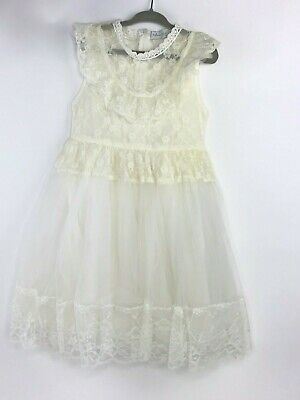 Trish Scully Child Girls Toddler 4 4t Lace Dress Antique