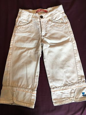 Eager Beaver Girls Age 6 3/4 Length Trousers Excellent Condition