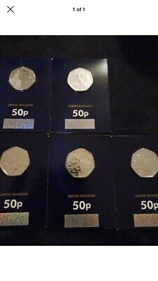 St pauls and London Tower Paddington bears uncirculated 50ps Five Coins