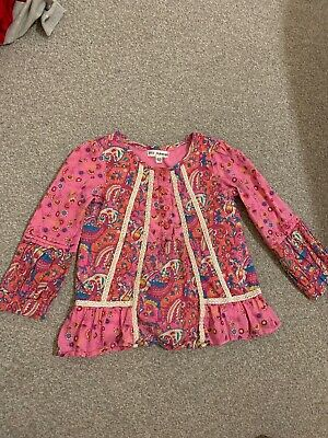 Girls Marks & Spencer Autograph Blouse Top Age 2-3