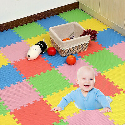 EG/_ FM 95cm Cotton Baby Kids Game Activity Play Mat Crawling Blanket Floor Rug