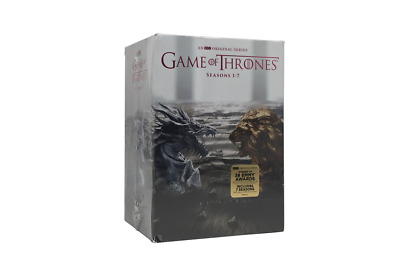 Game of Thrones Season 1-7(DVD, 34-Disc Set)1-5 working days only inventory