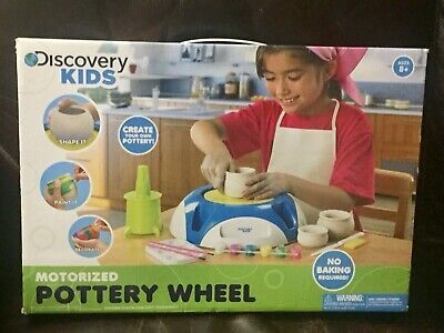 Discovery Kids Motorized Pottery Wheel Brand New In Box