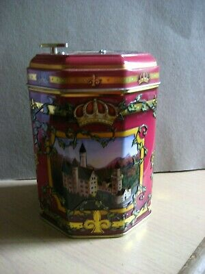 Music biscuit tin.Working in good condition x 2