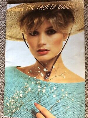 Vintage Patons Knitting Pattern Book 755 The Face of Summer - Ladies Tops