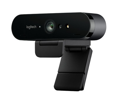 Logitech BRIO 4K Ultra HD HDR 5xHD Zoom Auto Focus Infrared Streaming Webcam
