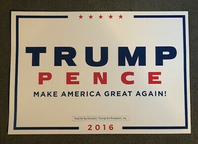 Donald Trump und Mike Pence 2016 - Make America Great Again