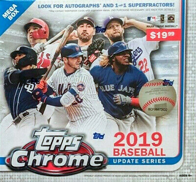 2019 Topps Chrome Update Series You Pick From List