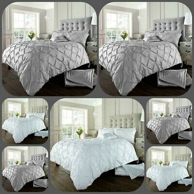 Pintuck Duvet Cover Poly Cotton Pintuck Bedding Duvet Covers Quilt Cover Sets