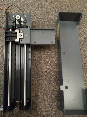 Stepper Motor plus Linear Axis plus linear bearings and limit switch and case