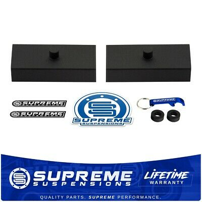 """1 Inch Rear Solid Steel Lift Blocks For Vehicles with 9/16"""" Axle Pin Holes"""