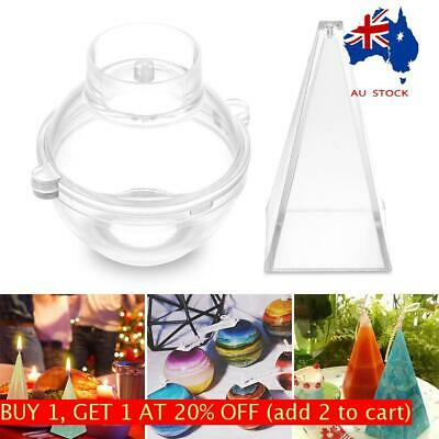 Candle Molds Candle Making Mould Handmade Soap Molds Clay DIY Craft  Party