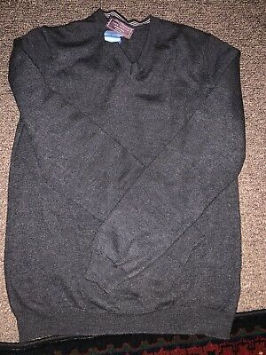 John Lewis, Grey, Mens, Merino Wool Jumper, Great Condition Size Medium.