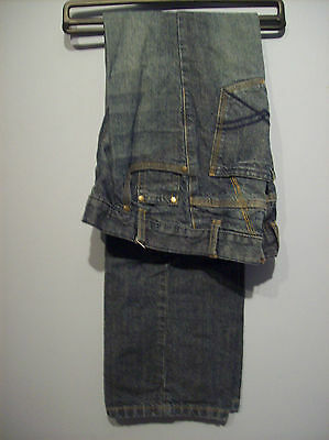Jeans Boys Blue Denim Jeans by Cherokee Age 12 to 13 with 27.5 inch Waist VGC