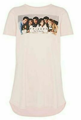 Primark Ladies FRIENDS TV SERIES Womens Nightie Nightdress Pyjamas
