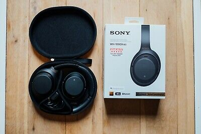 Sony WH-1000XM3 Wireless Headphones - Black - Used but perfect condition