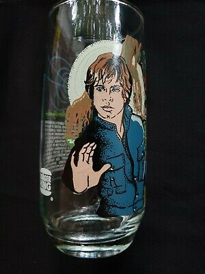 "1980  Burger King,Coca Cola ""LUKE SKYWALKER"" EMPIRE STRIKES BACK STAR WARS GLASS"