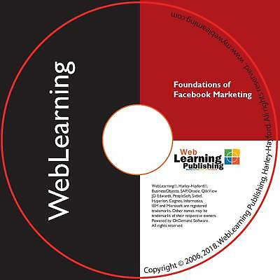 Foundations of Facebook Marketing Self-Study Training Guide