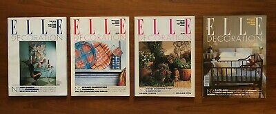 Complete Run Elle Decoration: issues 1-8 and 162/169/170 - Near Mint