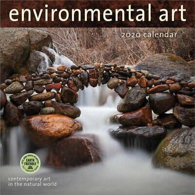 NEW 2020 Environmental Art Calendar Wall Calendar Free Shipping