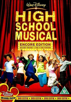 [DISC ONLY] High School Musical Encore Edition DVD