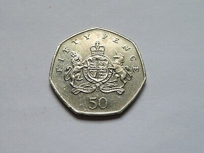 Rare 50p Fifty Pence Coin Anniversary of the birth of Christopher Ironside 2013