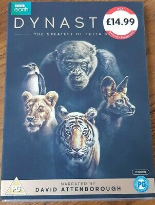 Dynasty The greatest of their kind DVD David Attenborough FREE P+P