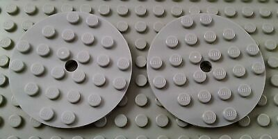 LEGO Lot of 2 Light Bluish Gray 2x14 Plate Pieces