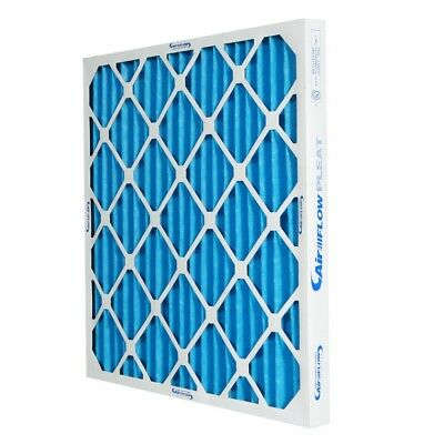 16x25x2 MERV 8 Pleated Home A/C Furnace Air Filter (12-pack)