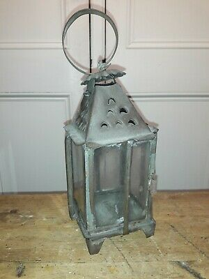 "18Th Century ""Birdcage"" Tin Candle Lantern"