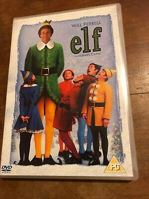 Elf (DVD, 2005, 2-Disc Set) Great Family Movie With Will Ferrell! Comedy Xmas