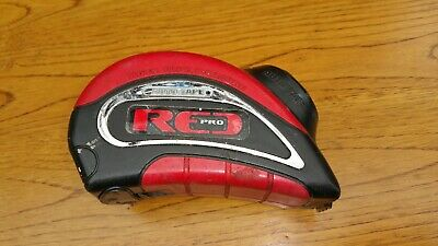 Red Pro Automatic Powered Steel 7.5 M Tape Measure Metric / Imp