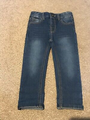 New Without Tags Boys Joules Elasticated Waist Jeans Age 3 Years