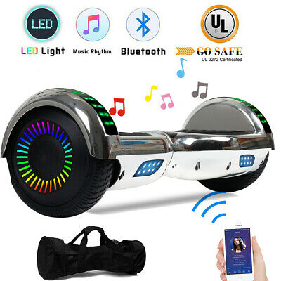 Bluetooth Hoverboard LED Electric Self Balancing Scooter UL2272 Chrismas W/ Bag