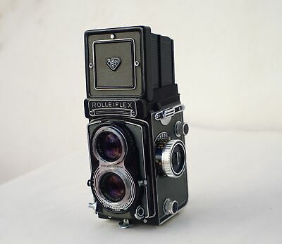 Rolleiflex 6x6 Carl Zeiss 75mm 3.5 Lens  Gorgeous Full Working Condition