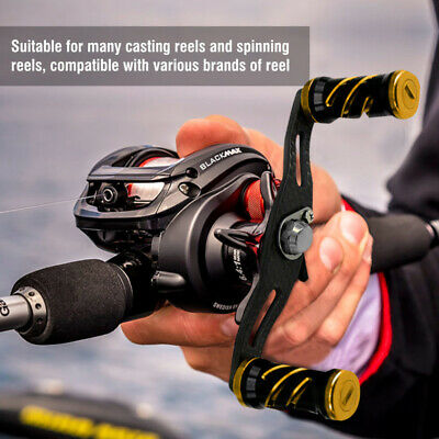 Profession Replacement Carbon Fiber Fishing Reel Handle for Baitcasting Y0H7