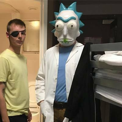 Adult Rick and Morty , Rick Sanchez Full Costume Cosplay