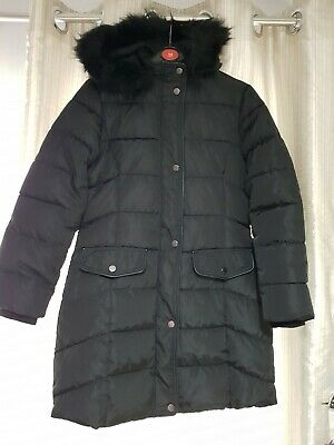 Girls coat quilted jacket in size age 12-13 by YD.great cond