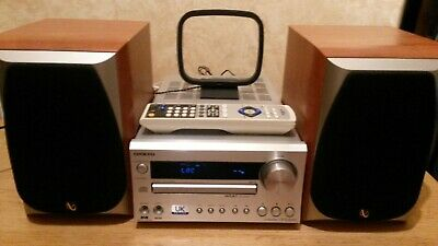 Onkyo CR-315DAB CD/Receiver Remote Infinity Alpha 5 Speakers.
