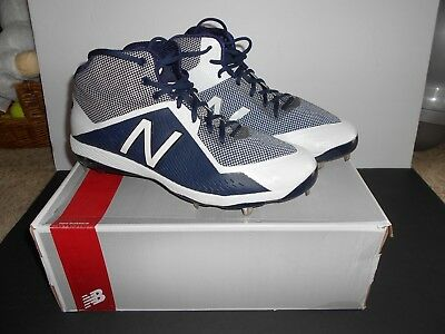 NEW BALANCE 4040V4 MID CUT METAL CLEATS M4040TN4 Size 14